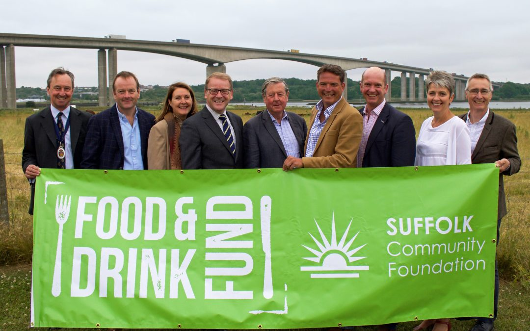 Suffolk Community Foundation joins forces with industry leaders to launch the Food and Drink Fund