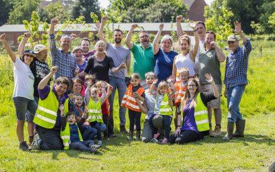 Hopkins Homes Volunteering Day at Deben Farm