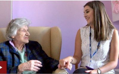 BBC News – Teenage volunteers make dementia residents 'feel alive'