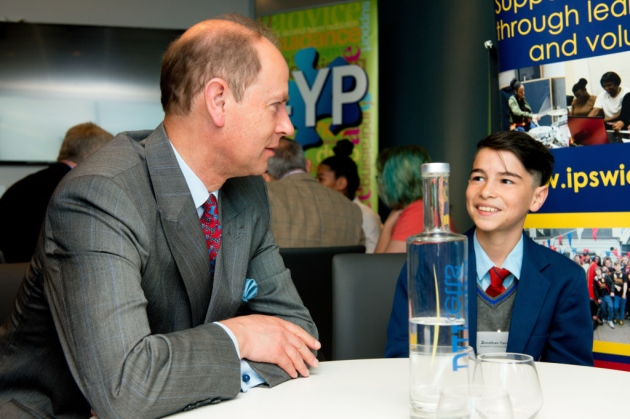 HRH The Earl of Wessex – Empowering Young People in Suffolk Event
