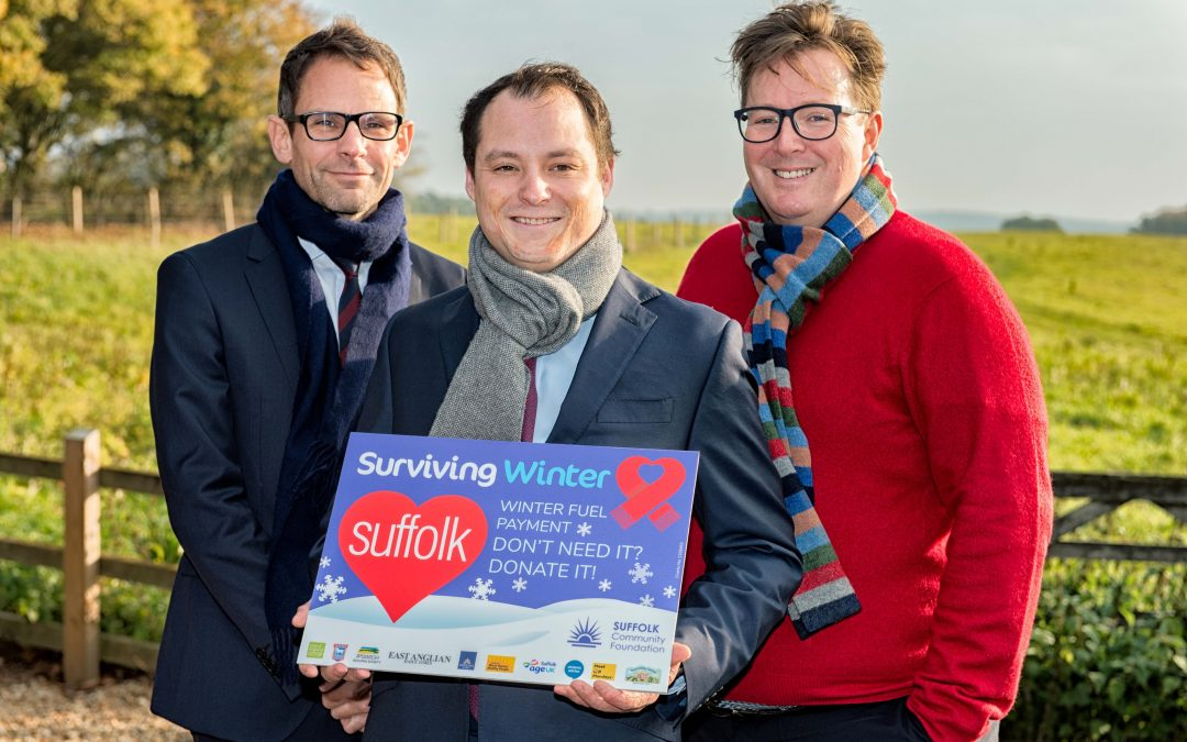 Hopkins Homes make record donation to Suffolk's Surviving Winter Appeal