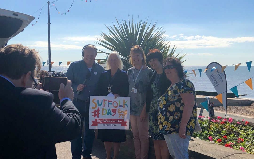 Celebrating Suffolk charities on Suffolk Day 2019