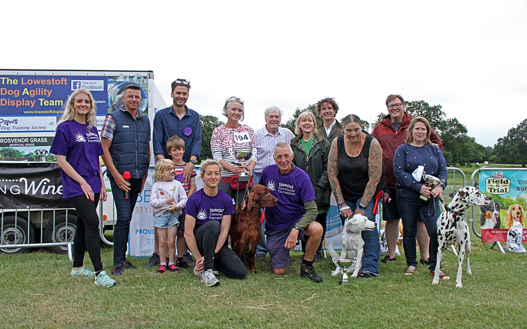 Suffolk dog lovers gather at Helmingham Hall for Suffolk Dog Day 2019
