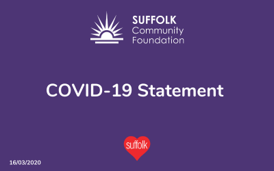 Suffolk Community Foundation – COVID-19 Statement