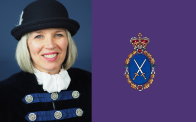 Welcoming Suffolk's New High Sheriff Bridget McIntyre MBE