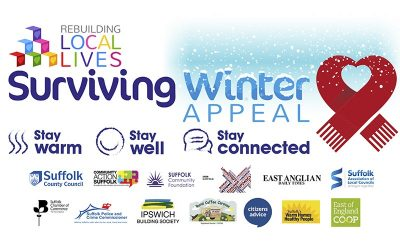 Suffolk's Rebuilding Local Lives – Surviving Winter Appeal launches with a £300k target